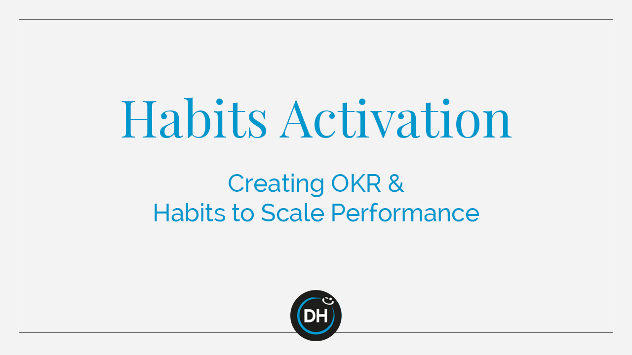 Habits Activation-cover